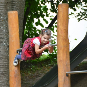 holz, wood, robinie, robinia, spielplatz, playground, stufenreck, horizontal bar