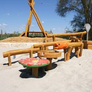 holz, wood, robinie, robinia, spielplatz, playground, wasserspielanlage_water play unit