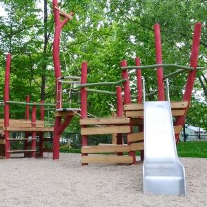 holz, wood, robinie, robinia, spielplatz, playground, spielschiff, play ship