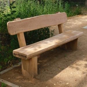 holz, wood, robinie, robinia, spielplatz, playground, sitzbank, bench