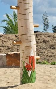 holz, wood, robinie, robinia, spielplatz, playground, kletterwald, climbing forest, birken, birch trees, fuchs, fox