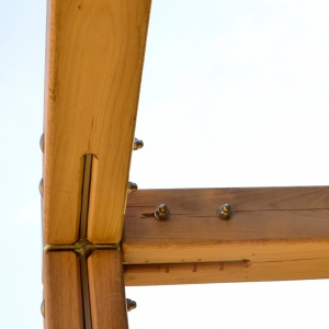 holz, wood, robinie, robinia, spielplatz, playground, kletterwürfel, climbing cube