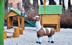 holz, wood, robinie, robinia, spielplatz, playground, tierpark, zoo, alpaka, luckenwalde