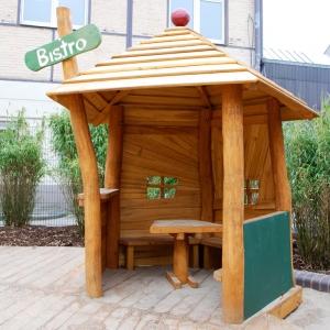 holz, wood, robinie, robinia, spielplatz, playground, spielhaus, playhouse, pavillon, pavilion