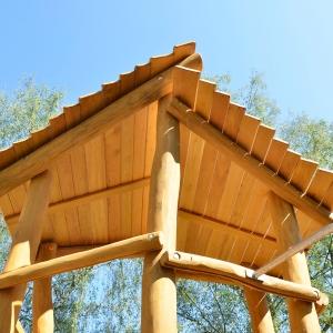 holz, wood, robinie, robinia, spielplatz, playground, spielanlage, multi unit, detail
