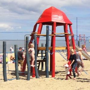 holz, wood, robinie, robinia, spielplatz, playground, spielanlage, multi unit, tintenfisch, octopus