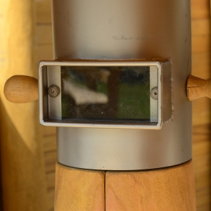 holz, wood, robinie, robinia, spielplatz, playground, sinnspiel, sensory game, spiegelperiskop, mirror periscope