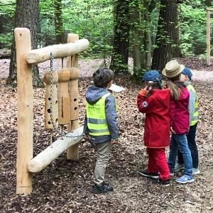 holz, wood, robinie, robinia, spielplatz, playground, sinnspiel, sensory game, klangspiel aus holz, sound game from wood