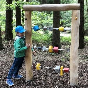 holz, wood, robinie, robinia, spielplatz, playground, sinnspiel, sensory game, abakus, abacus