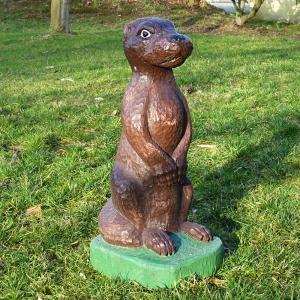 holz, wood, robinie, robinia, spielplatz, playground, spielskulptur, play sculpture, otter