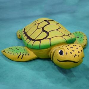 holz, wood, robinie, robinia, spielplatz, playground, spielskulptur, play sculpture, wasserschildkroete, sea turtle