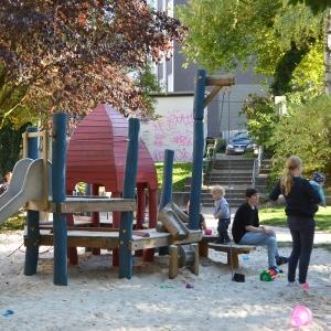 holz, wood, robinie, robinia, spielplatz, playground, sandspielanlage, sand play unit, tintenfisch, octopus