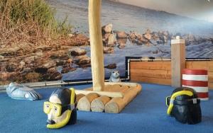 holz, wood, robinie, robinia, spielplatz, playground, indoor, tintenfisch, octopus