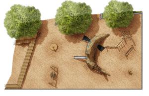 holz, wood, robinie, robinia, spielplatz, playground, stör, sturgeon, spielgerät